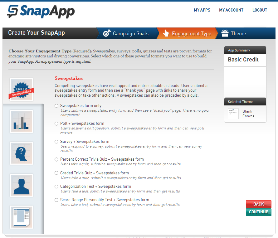 Can I Insert a Quiz Inside a Sweepstakes? [SnapApp FAQ] - SnapApp